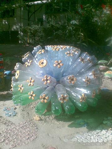 Как сделать цветы из пластиковой бутылки своими